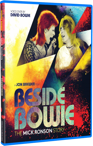 Beside Bowie - The Mick Ronson Story (2017, Blu-ray)