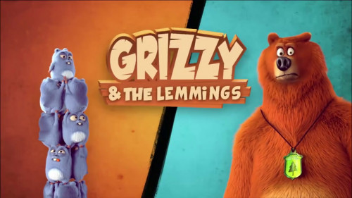 Гризли и лемминги.Grizzy and the Lemmings (2016-2019).SATRip (Victor-Emmanuel Moulin) [2016, SATRip]