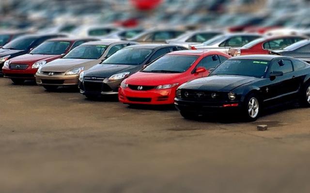 Автомобили на аукционе США