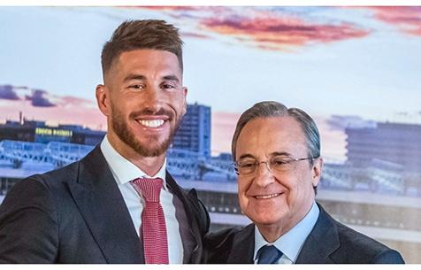 """Marca: """"Мадрид"""" предложит С. Рамосу новый контракт"""