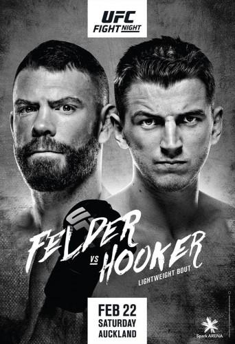 Смешанные единоборства. UFC Fight Night 168: Felder vs. Hooker (2020) HDTV 1080р