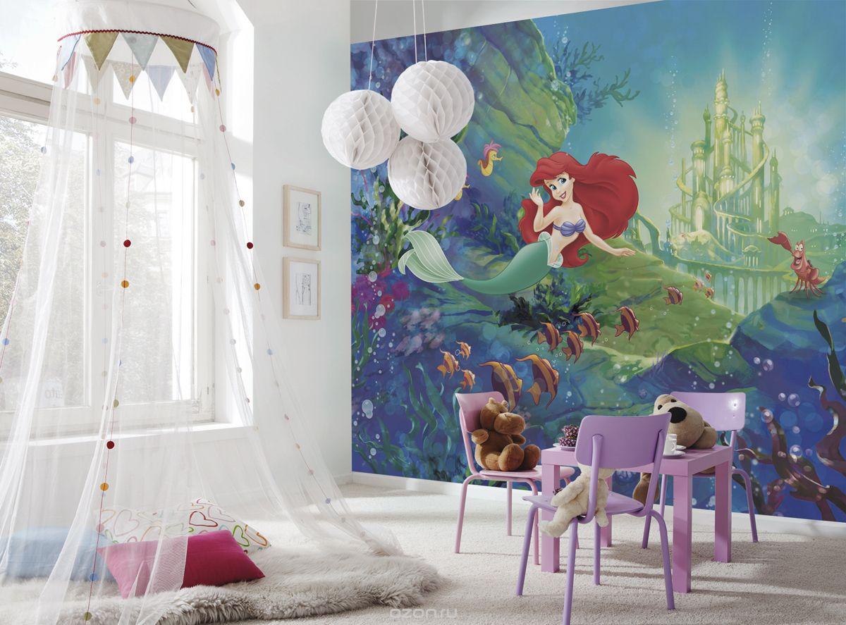 Как и какие выбрать фотообои для детской комнаты: правила и особенности
