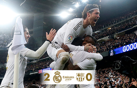 Real Madrid C.F. - FC Barcelona 2:0