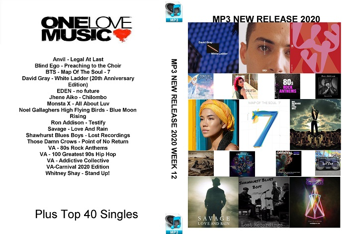 MP3 NEW RELEASES 2020 WEEK 12