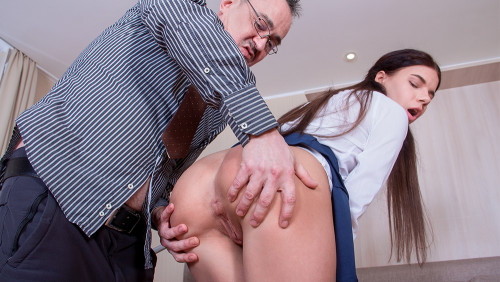 Emily - Disappointed teacher punishes his best student (2020) SiteRip |