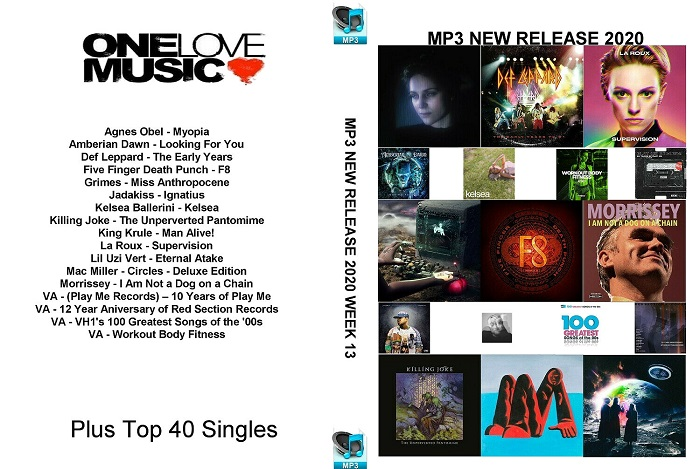 MP3 NEW RELEASES 2020 WEEK 13