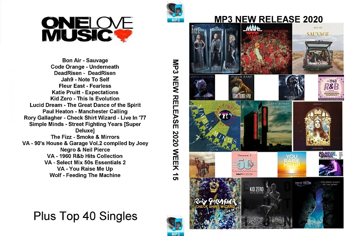 MP3 NEW RELEASES 2020 WEEK 15