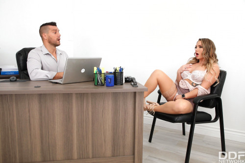 Cali Carter - Cheating Wife Fucked In Detective's Office (2020) SiteRip |