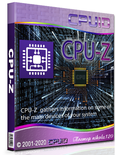 CPU-Z 1.92.2 Portable by loginvovchyk [2020, Ru]