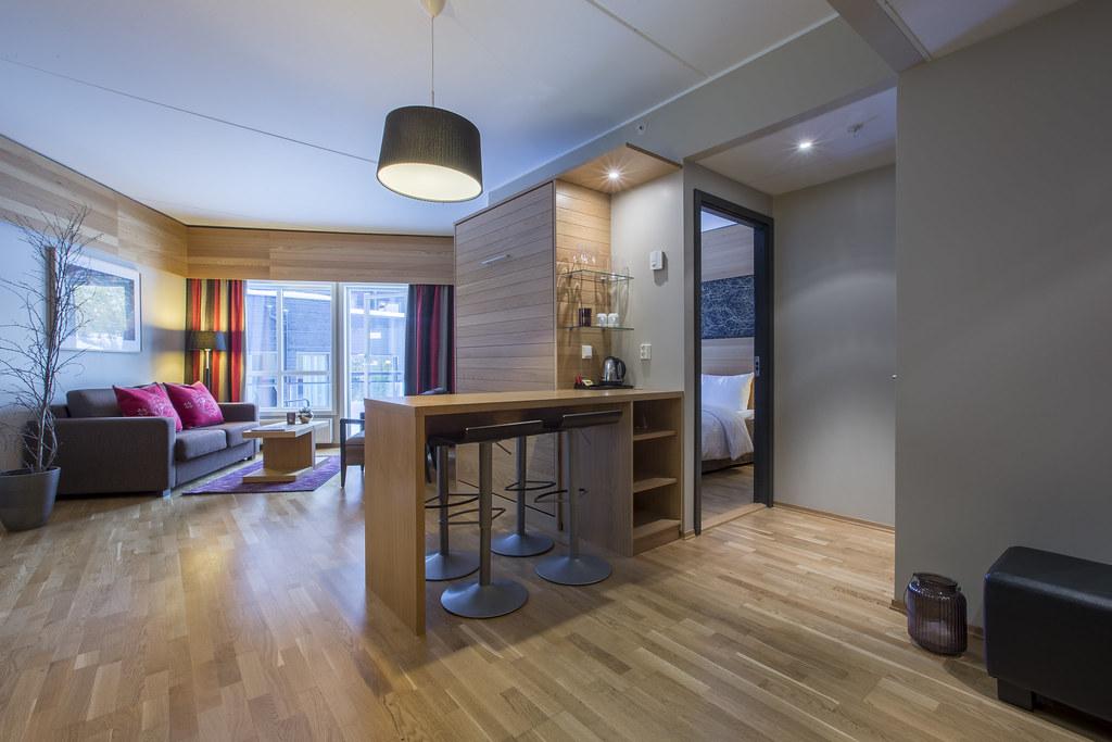 Апартаменты студия с мебелью
