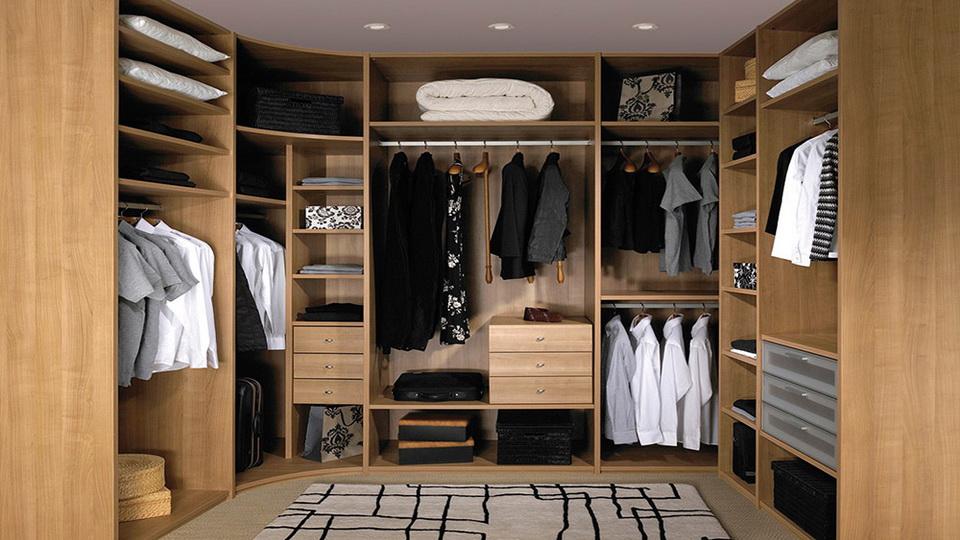Гардеробная комната на заказ или шкаф-купе