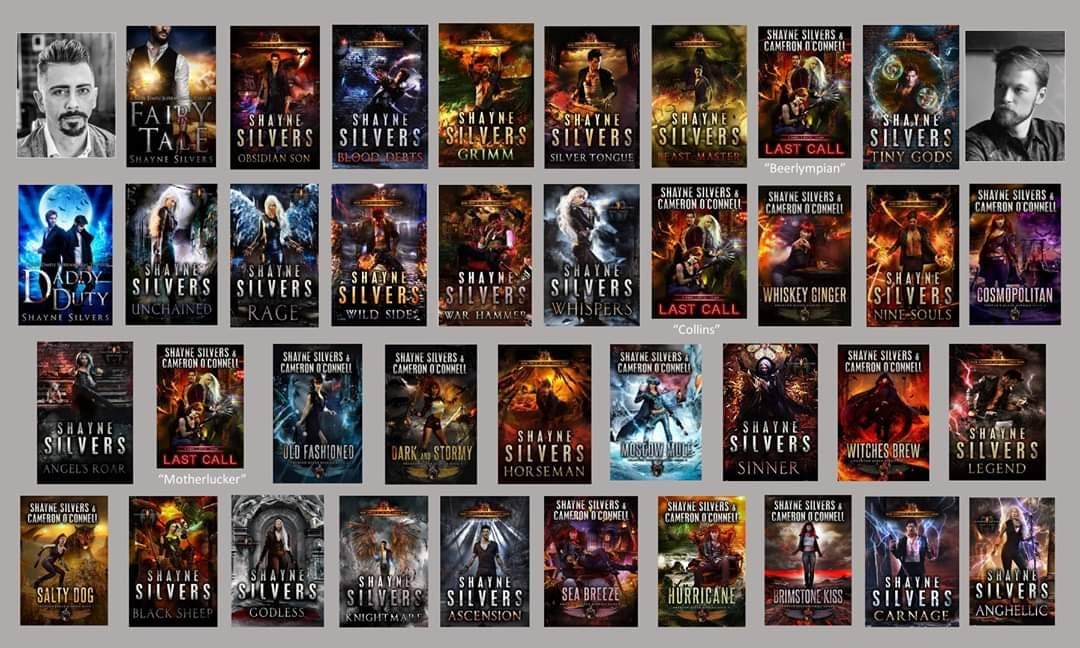 Templeverse Books 0.5-29, Shade of Devil Books 1-3 Phantom Queen Diaries Book1-9 - Shayne Silvers, Cameron O'Connell