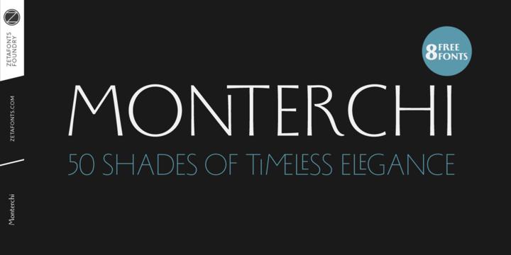 Семейство шрифтов Monterchi