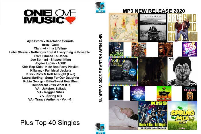 MP3 NEW RELEASES 2020 WEEK 19