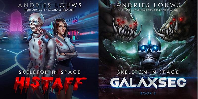 Skeleton in Space Series Books 1-2 - Andries Louws