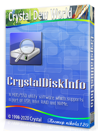 CrystalDiskInfo 8.6.0 RePack (& Portable) by elchupacabra [2020,Multi/Ru]