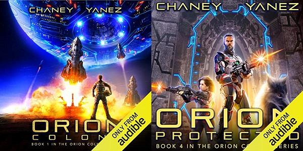 Orion Colony Series Books 1-4 - J.N. Chaney/Jonathan Yanez