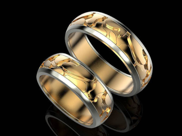 Выбираем парные обручальные кольца