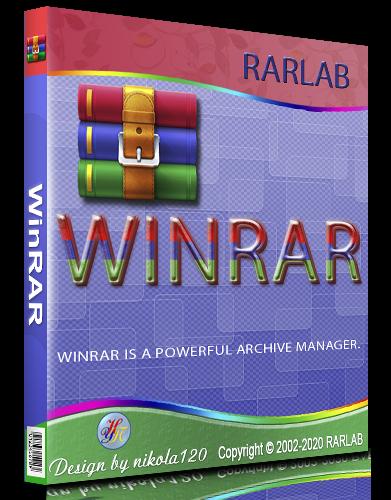 WinRAR 6.00 RePack (& Portable) by TryRooM [2020, Multi/Ru]