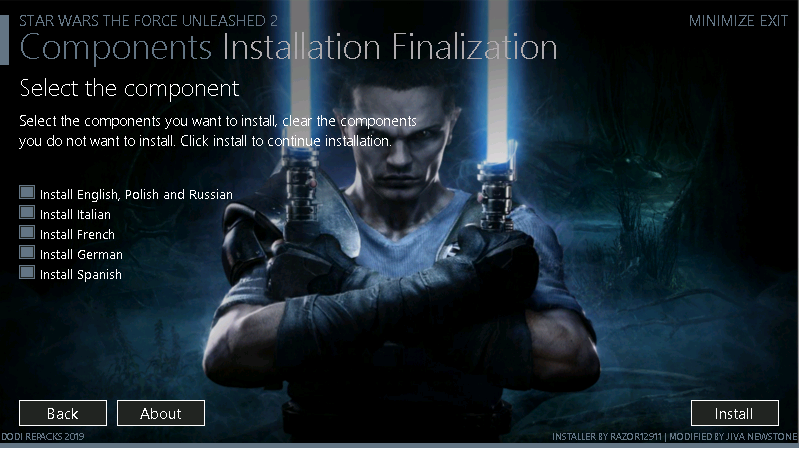 STAR WARS ™ – The Force Unleashed ™ II (GOG + MULTi7)