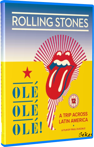 The Rolling Stones - Ole Ole Ole! A Trip Across Latin America (2017, Blu-ray)