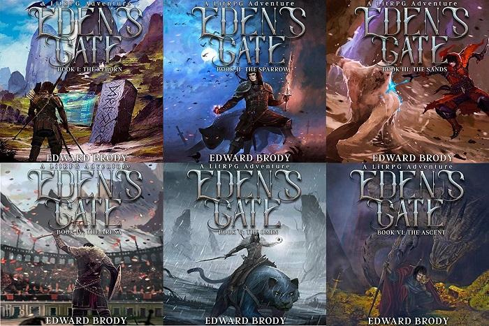 Eden's Gate Series Book 1-6 - Edward Brody
