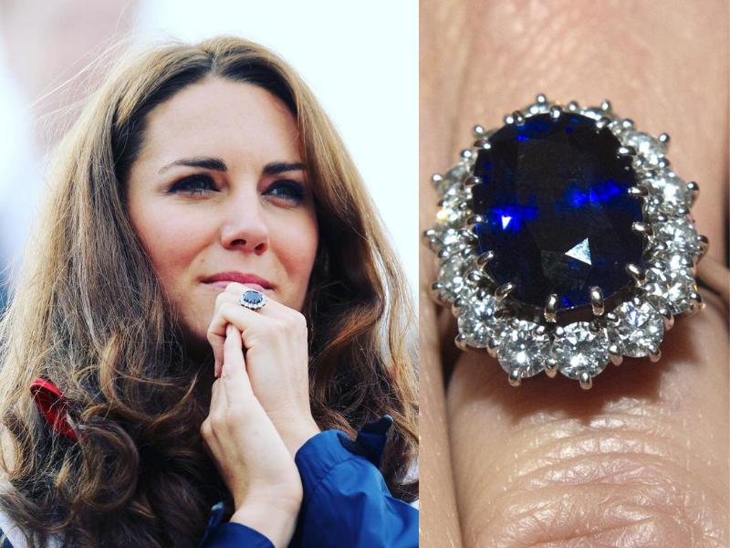 Помолвочное кольцо Кейт Миддлтон