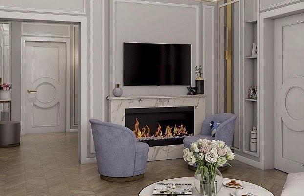 Кресло V007 в проекте студии интерьерного дизайна Аракелян С. и Бобок Е.