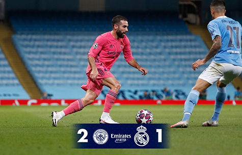 Manchester City FC - Real Madrid C.F. 2:1