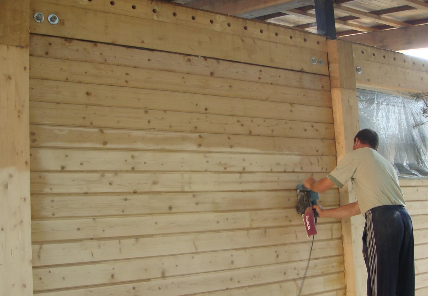 Дополнительные работы по обработке стен