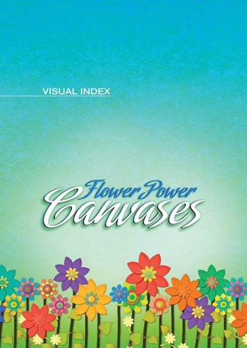 Digital Juice – Canvases Collections.Flower Power Canvases [125 JPG]