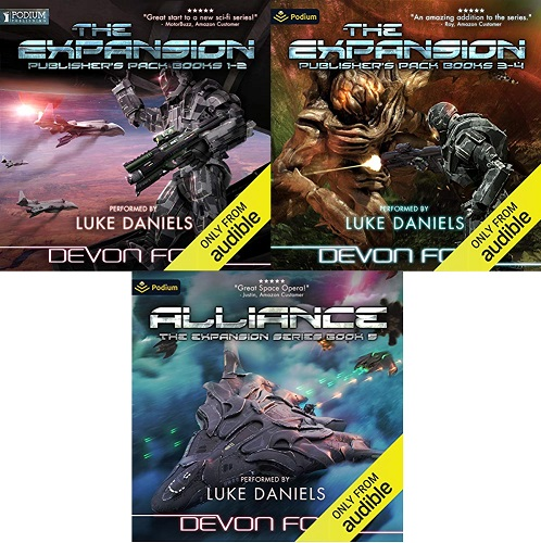 The Expansion Series Book 1-5 - Devon C. Ford