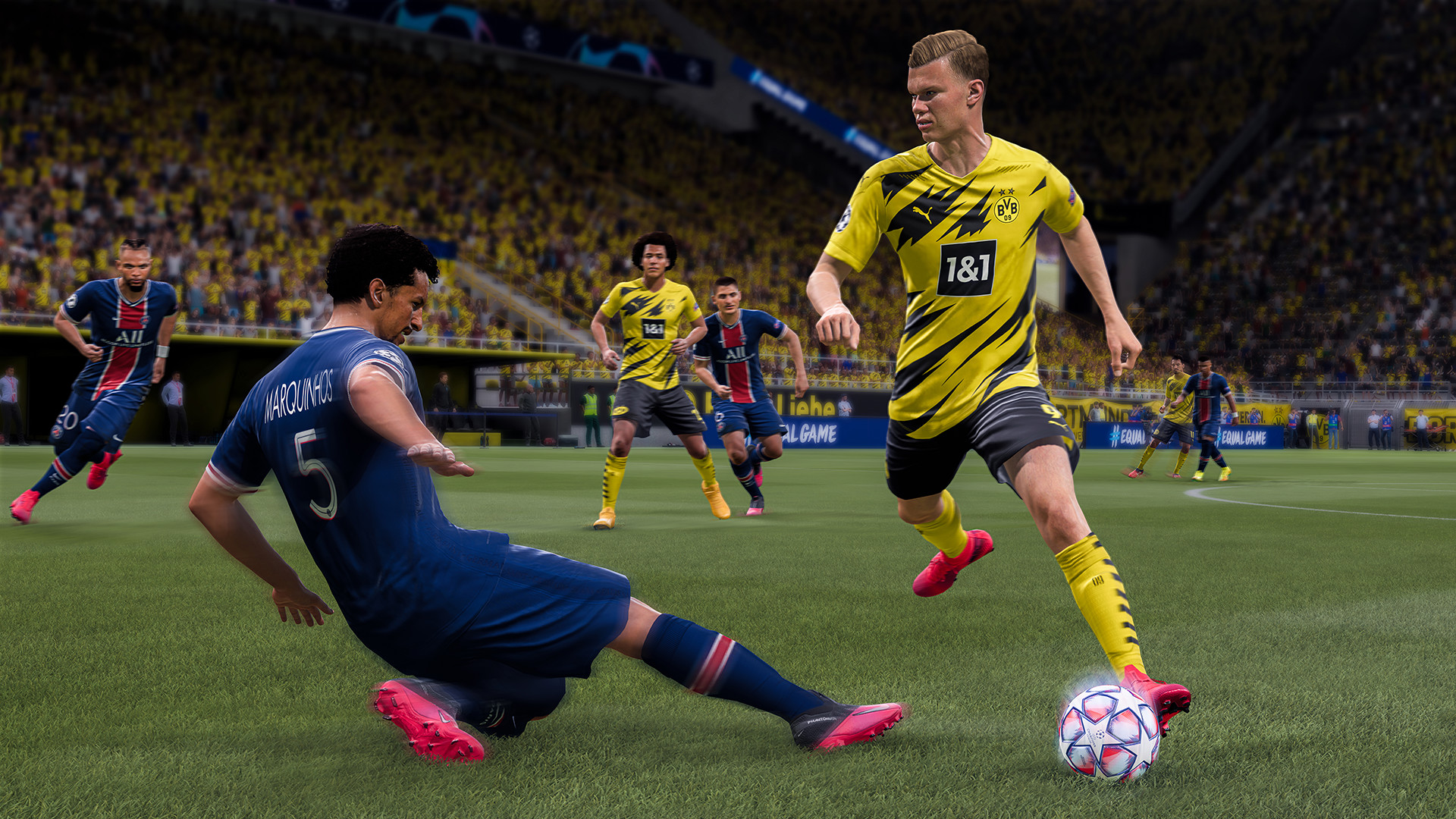 FIFA 21 Ultimate Edition (Electronic Arts) (RUS|ENG|MULTi) [OriginRip] by vano_next