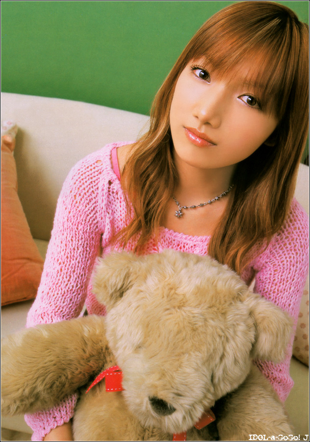 Maki Goto, teddy bear [PH201025023404]