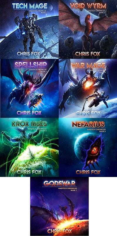 The Magitech Chronicles Series Book 1-7 - Chris Fox