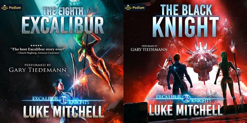 Excalibur Knights Saga Book 1-2 - Luke Mitchell