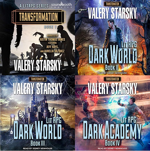Transformation Series Books 1-4 - Valery Starsky
