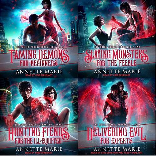 The Guild Codex - Demonized Series Books 1-4 - Annette Marie