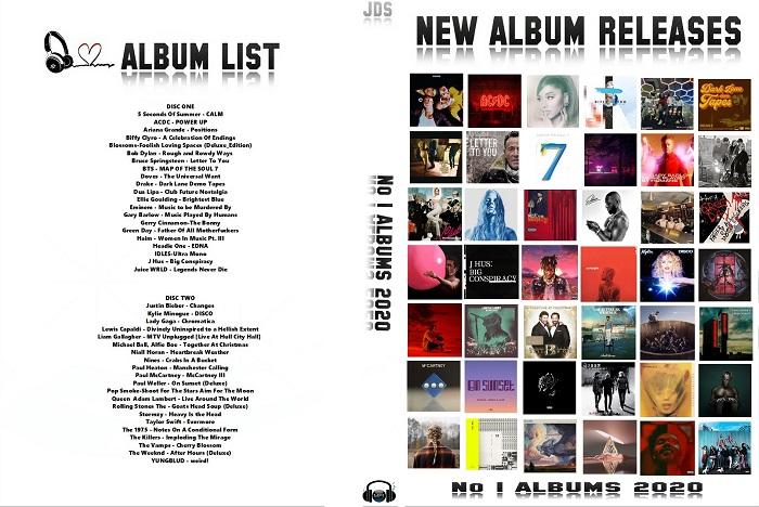 MP3 NEW ALBUM RELEASES - No1 ALBUMS OF 2020