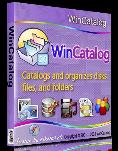 WinCatalog 2020.3.1 RePack (& Portable) by TryRooM [2021,Multi/Ru]