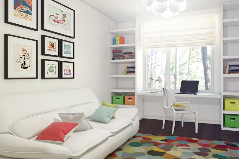 Интересные идеи дизайна комнаты для подростка