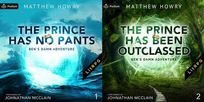 Ben's Damn Adventure Series Book 1-2 - Matthew Howry