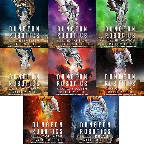 Dungeon Robotics Series Book 1-8 - Matthew Peed