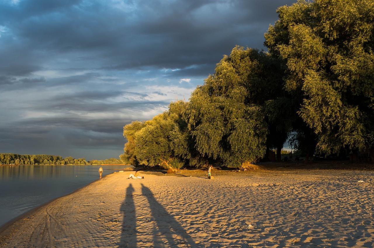 Бесплатный пляж в Сербии