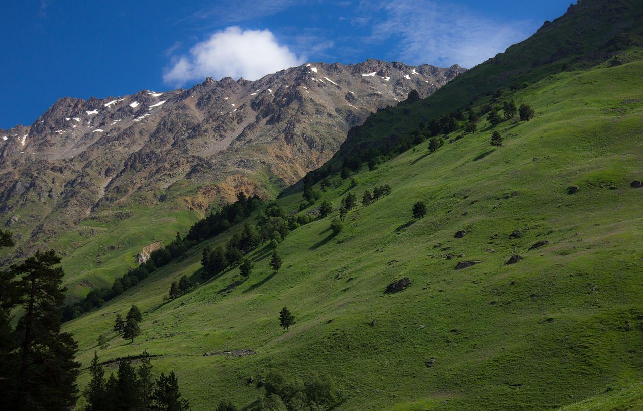 Приэльбрусье, Кавказ