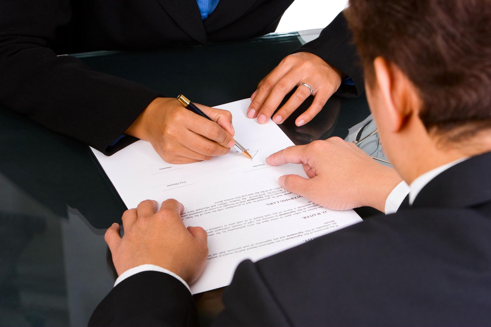 адвокат для складання договору