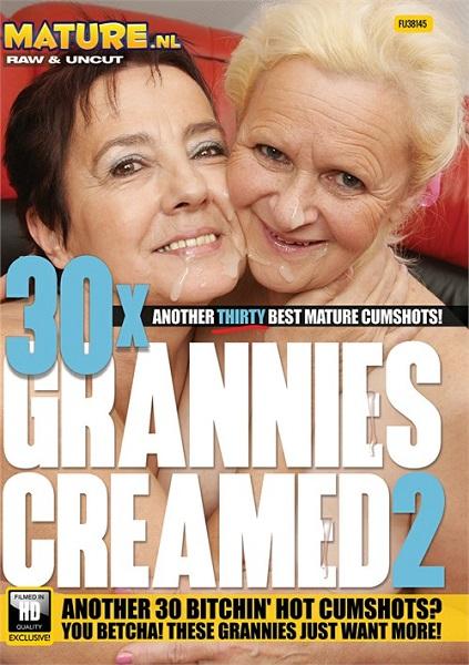 30 обконченных бабушек  |  30X Grannies Creamed 2 (2021) WEB-DL 720p