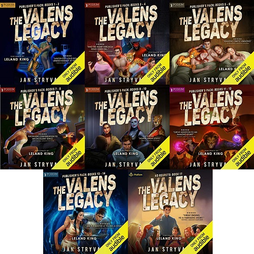 The Valens Legacy Series Book 1-17 - Jan Stryvant