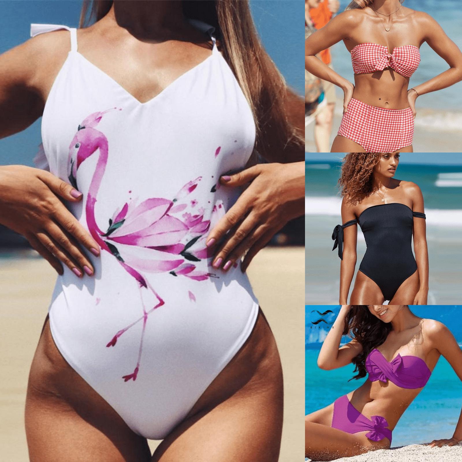 Модные модели купальников 2021