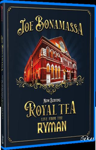 Joe Bonamassa - Now Serving Royal Tea Live From The Ryman (2020, Blu-ray)